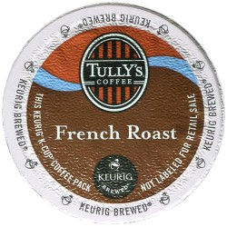 Tully's French Roast Extra Bold Coffee (96 Cups)