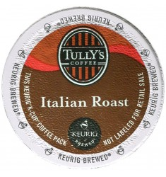 Tully's Italian Roast Extra Bold Coffee (96 Cups)
