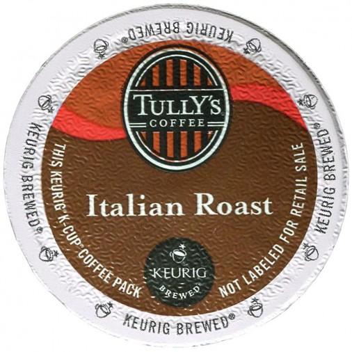 Tully's Italian Roast Extra Bold Coffee