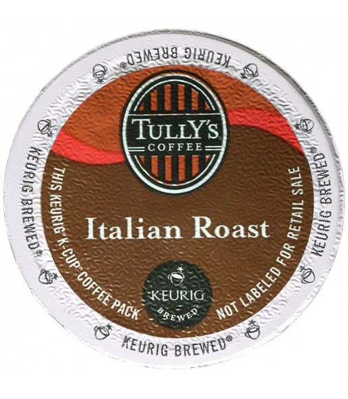 Tully's Italian Roast Extra Bold Coffee (96 Cups)
