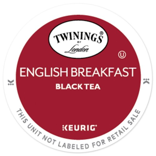 Twinings English Breakfast Tea Keurig K Cup Compatible