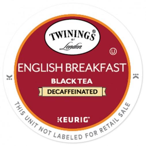 Twinings English Breakfast Decaffeinated Tea