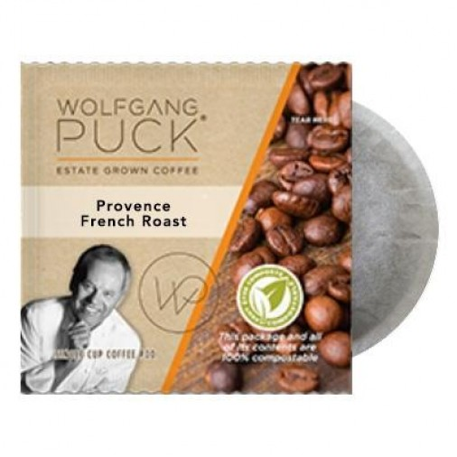 Wolfgang Puck Provence French Roast Coffee Pods