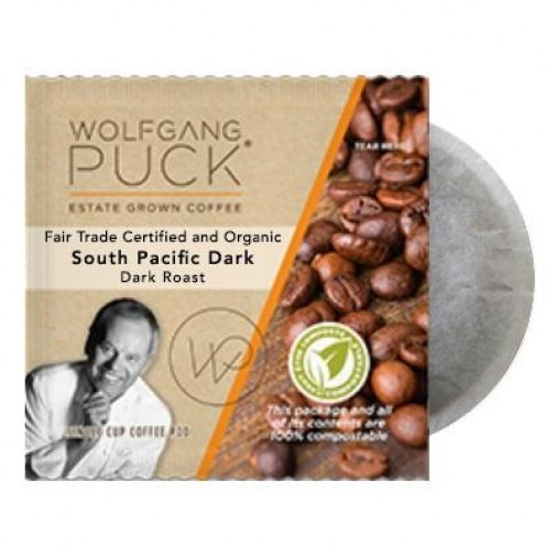 Wolfgang Puck South Pacific Dark Coffee Pods