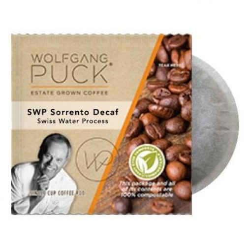 Wolfgang Puck SWP Sorrento Decaf Coffee Pods
