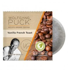 Wolfgang Puck Vanilla French Toast Coffee Pods