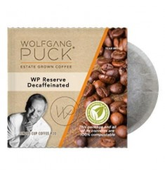 Wolfgang Puck Chefs Reserve Decaffeinated Medium Dark  Pods