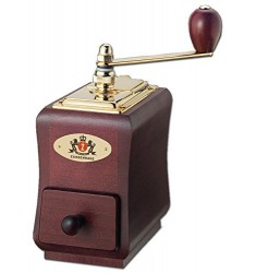 Zassenhaus Coffee Grinder - Santiago (Mahogany Stained)