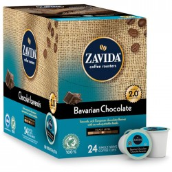 Zavida Bavarian Chocolate, Single Serve Coffee