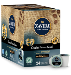 Zavida Charles' Private Stock, Single Serve Coffee