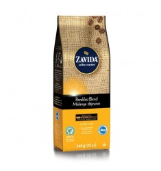 Zavida 12oz Breakfast Blend Whole Bean Coffee