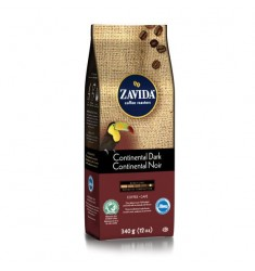 Zavida 12oz Continental Dark Whole Bean Coffee