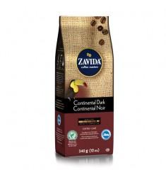 Zavida 12oz Continental Dark Whole Bean Coffee