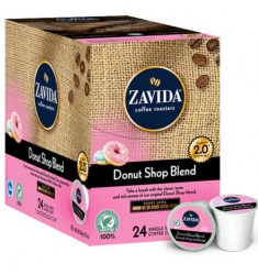 Zavida Donut Shop Blend Single Serve Coffee