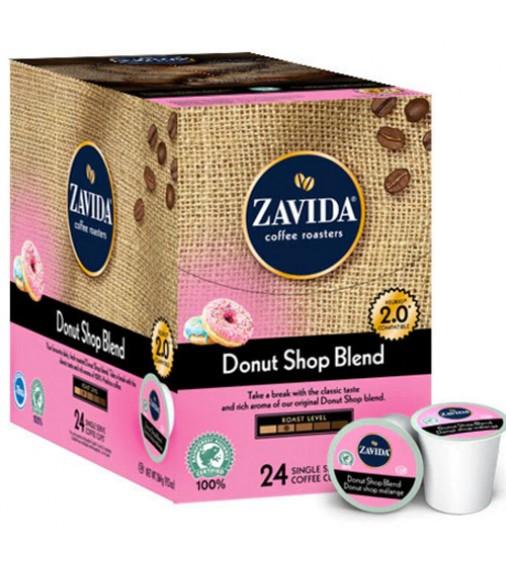 Zavida Donut Shop Blend Single Serve Coffee