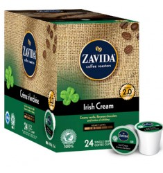 Zavida Irish Cream Single Serve Coffee