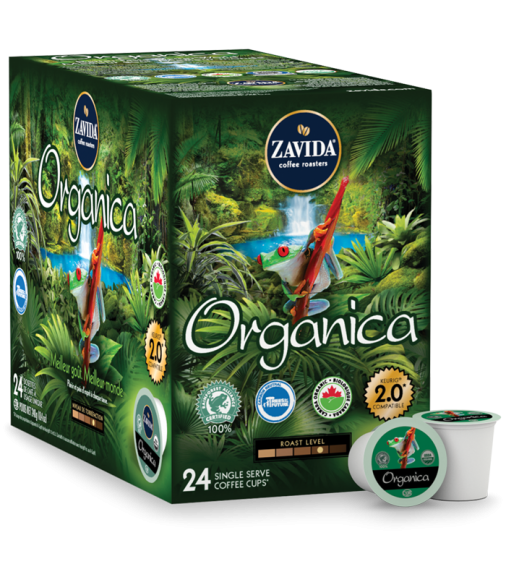Zavida Organica Single Serve Coffee