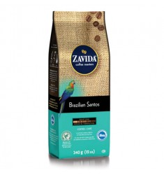 Zavida 12oz Brazilian Santos Whole Bean Coffee