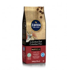 Zavida 12oz Colombian Dark Whole Bean Coffee