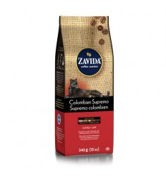 Zavida 12oz Colombian Supremo Whole Bean Coffee