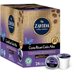 Zavida Costa Rican Cielo Alto, Single Serve Coffee