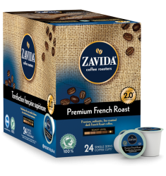 Zavida Premium French Roast Single Serve Coffee