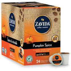 Zavida Pumpkin Spice Single Serve Coffee