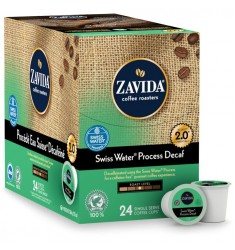Zavida Decaf Swiss Water Process Single Serve Coffee