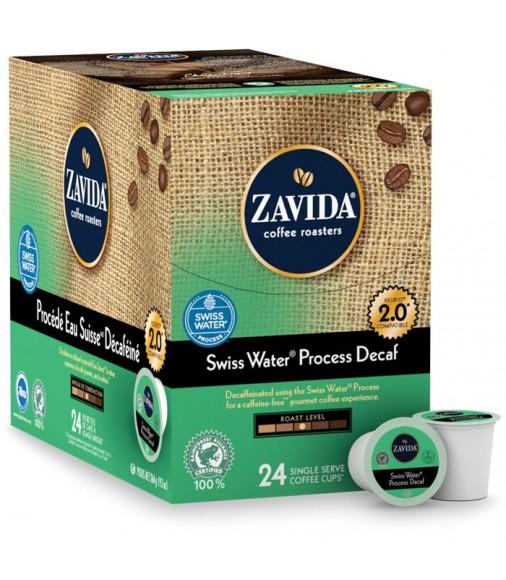 Zavida Decaf Swiss Water Process Single Serve Coffee