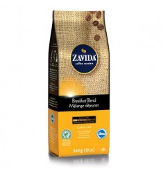 Zavida 12oz Breakfast Blend Whole Bean Coffee