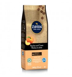 Zavida 12oz Peaches & Cream Whole Beans