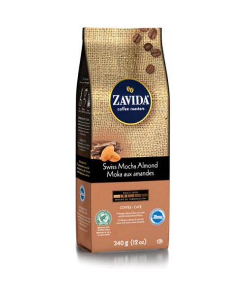 Zavida 12oz Swiss Mocha Almond Whole Beans