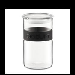 Bodum Presso Storage Jar (Black) 1l