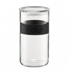 Bodum Presso Storage Jar (Black) 2l, 68oz