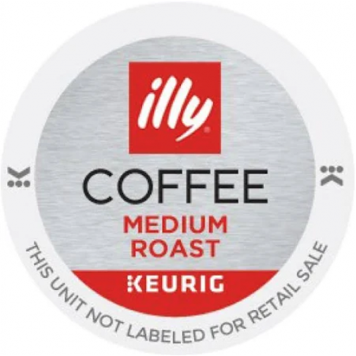 Illy Medium Roast Coffee K-cup