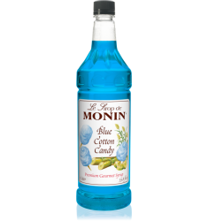 Monin Blue Cotton Candy Syrup X 1L