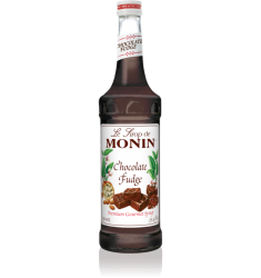 Monin Chocolate Fudge Syrup X 1L