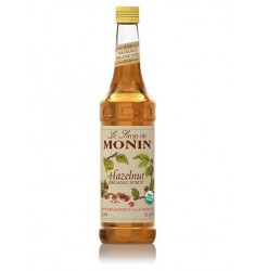Monin Organic Hazelnut Syrup X 750ml