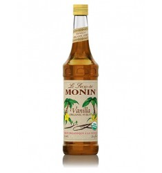 Monin Organic Vanilla Syrup X 750 Ml