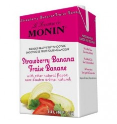 Monin Smoothie Strawberry Banana Mix X 46oz