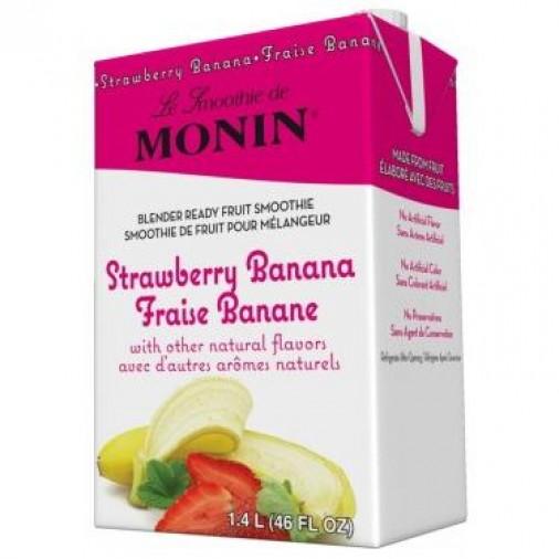 Monin Smoothie Strawberry Banana Mix X 46oz