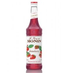 Monin Strawberry Syrup X 750ml
