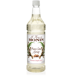 Monin Sweetener Pure Cane Sugar X 1litre