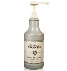 Monin White Chocolate Sauce X 64oz